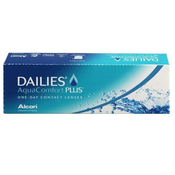 Lentes de Contato Dailies Aqua Comfort Plus 10 Lentes