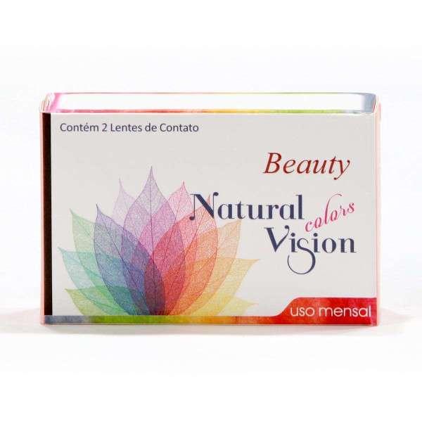 Lentes de Contato Natural Vision Colors Beauty Mensal com Grau