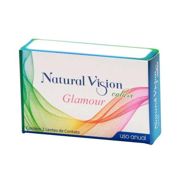 Lentes de Contato Natural Vision Colors Glamour Anual