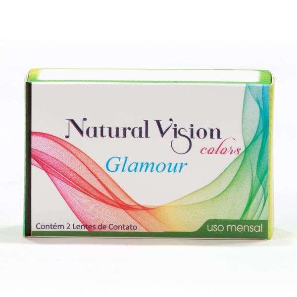 Lentes de Contato Natural Vision Colors Glamour Mensal com Grau