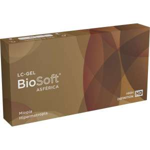 Lentes de Contato Biosóft Asférica