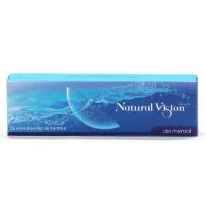 Lentes de Contato Natural Vision Incolor - Descarte MENSAL
