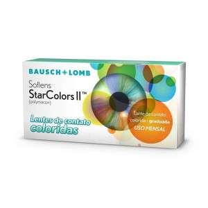 Lentes de Contato Soflens Starcolors II Com Grau